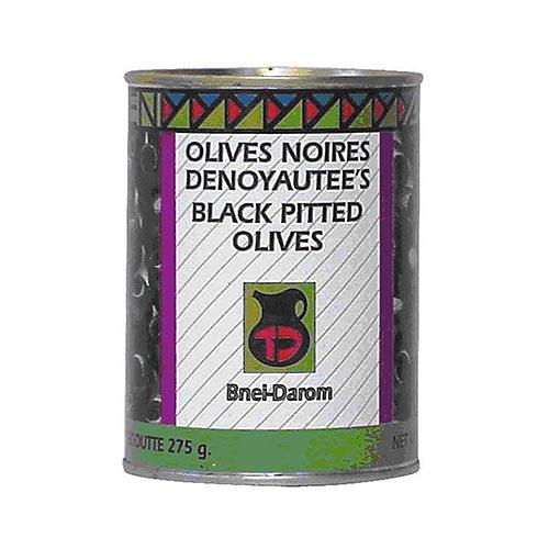 olives noires denoyautées
