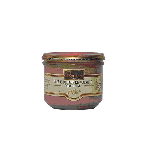crème de foie de volaille forestière