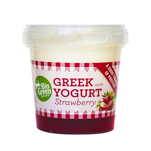 Yaourt à la grecque fraise