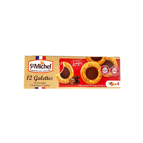 Galettes Saint Michel au chocolat x 12