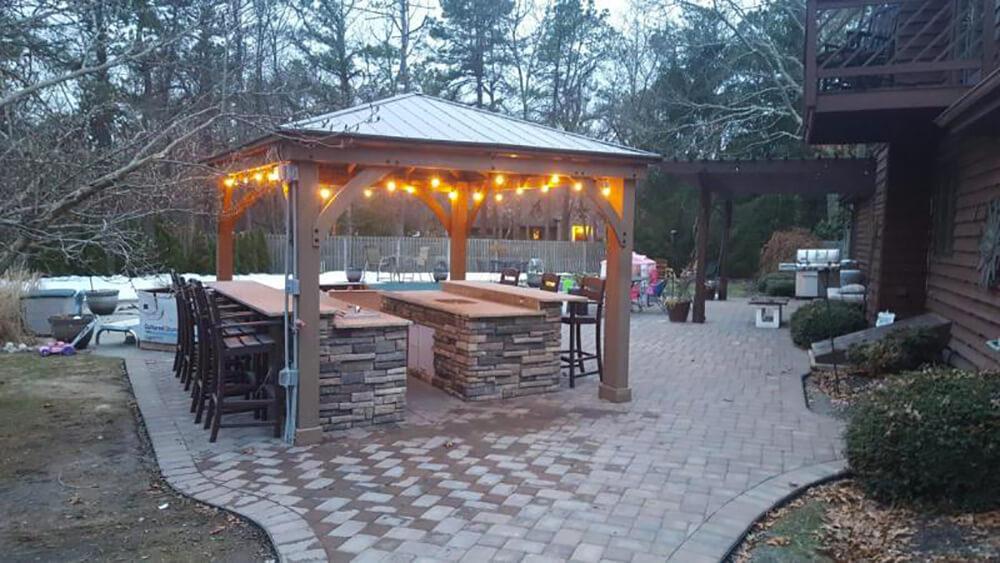 10 inspiring outdoor bar ideas