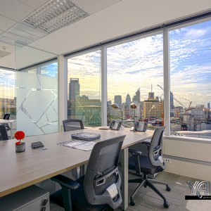 Interior Office Photograph – REGUS Bangkok