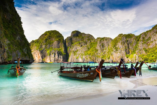 Tour photography in Phuket Thailand Maya Beach