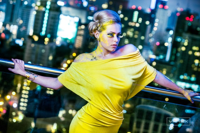 The Bee for Candy Club. Fun fashion type shoot in Bangkok, Thailand.