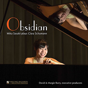 Obsidian Mika Sasaki plays Clara Schumann