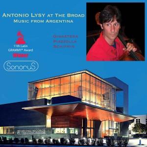 Antonio Lysa at the Broad