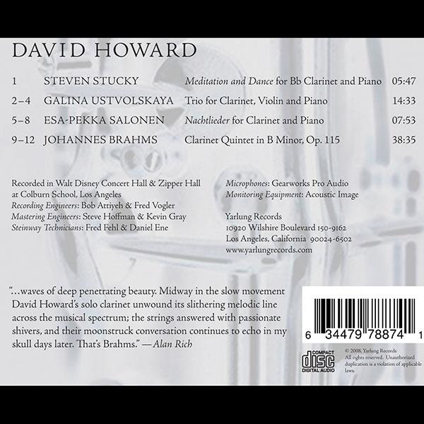 David Howard Clarinet