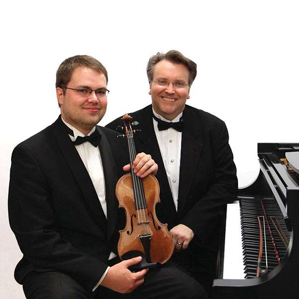 Petteri Iivonen   Violin. Kevin Fitz-Gerald, piano