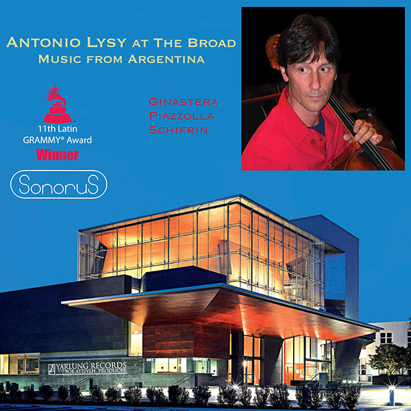 Antonio Lysy at the Broad Argentina SonoruS