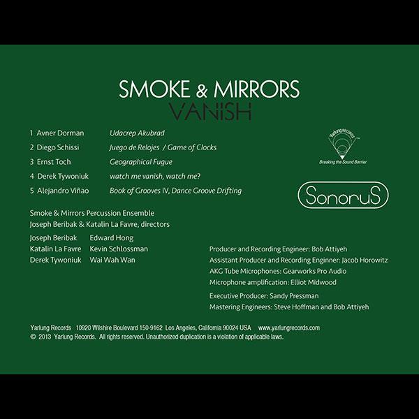 Smoke & Mirrors Percussion Ensemble | Vanish | SonoruS