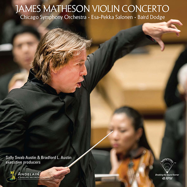James Matheson Violin Concerto | Esa-Pekka Salonen