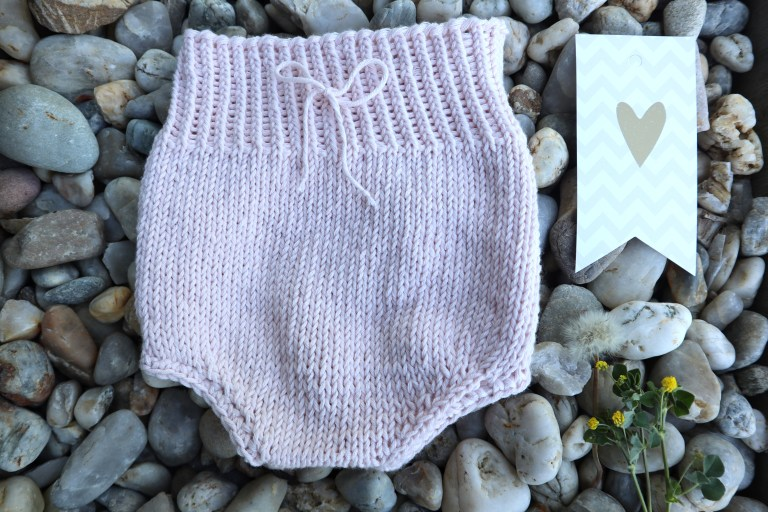 Baby Bloomers, stricken, Babysachen stricken