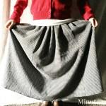 Sew Easy Flannel Maxi Skirt for Girls