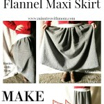 Easy Peasy Circle Skirt with Exposed Elastic