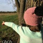 Simple Crochet Chunky Hat with Pattern Link!!!