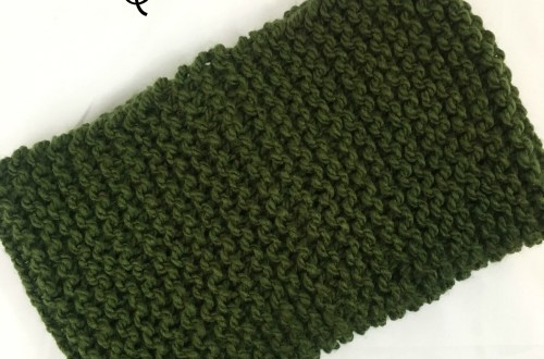 74822c7f5e2 Basic Knit Cowl with Pattern Link by BrennaAnnHandmade – Yarn