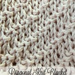 Diagonal Knitted Blanket with FREE Pattern! – Yarn|Hook|Needles