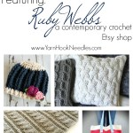Maker Monday: rubywebbs A Contemporary Crochet Pattern Etsy Shop
