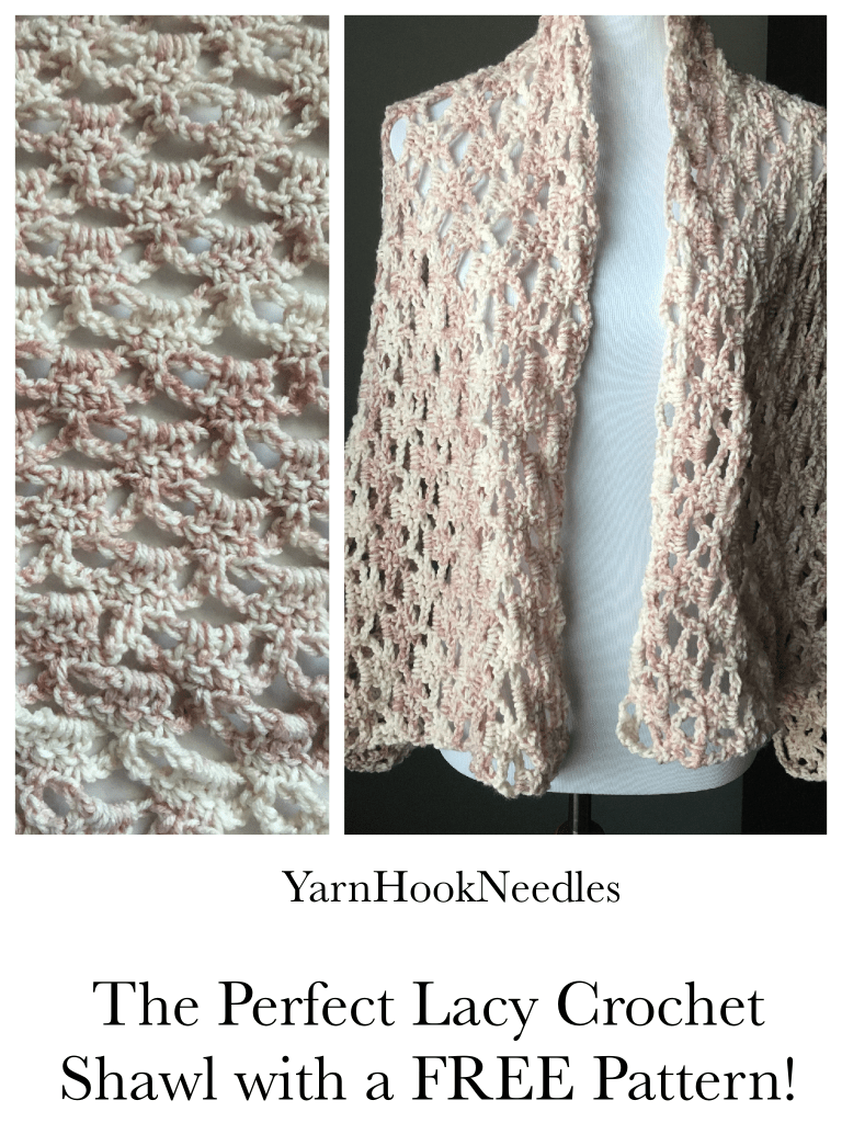 How To Crochet The Perfect Lacy Shawl