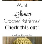 The Perfect Spring Time Beanie Patterns from the Velvet Acorn Shop (a round up) – YarnHookNeedles