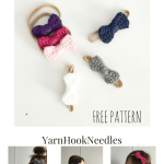 Learn How to Make These Adorable Crochet Bow Headbands – YarnHookNeedles