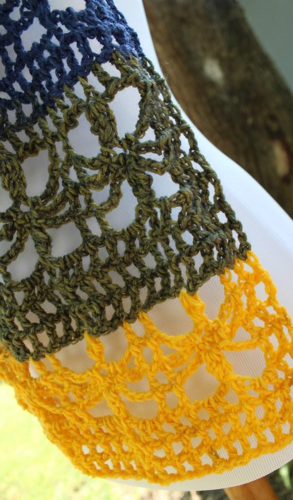 The Webster Mandala Scarf Free Crochet Pattern U K Terms
