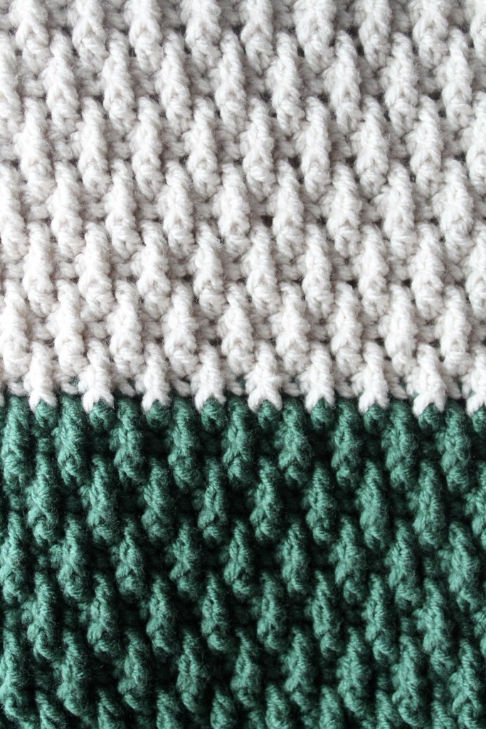 Updated The Alpine Blanket Stitch Pattern Yarnhookneedles