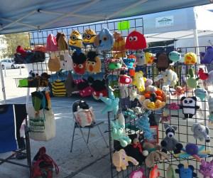 YarnKat booth City of Torrance Spring Fair