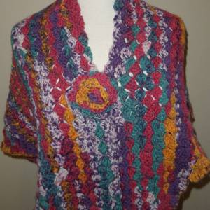 Tapestry Crochet Shawl
