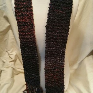 Knit Boucle Scarf