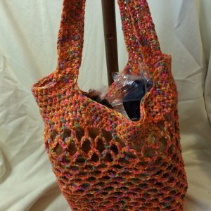 Orange Sturdiest Ever Market Bag