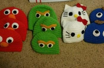 Kids Character Hats