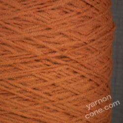 soft quality 4 ply dk double knitting wool blend knitting yarn on cone rust orange