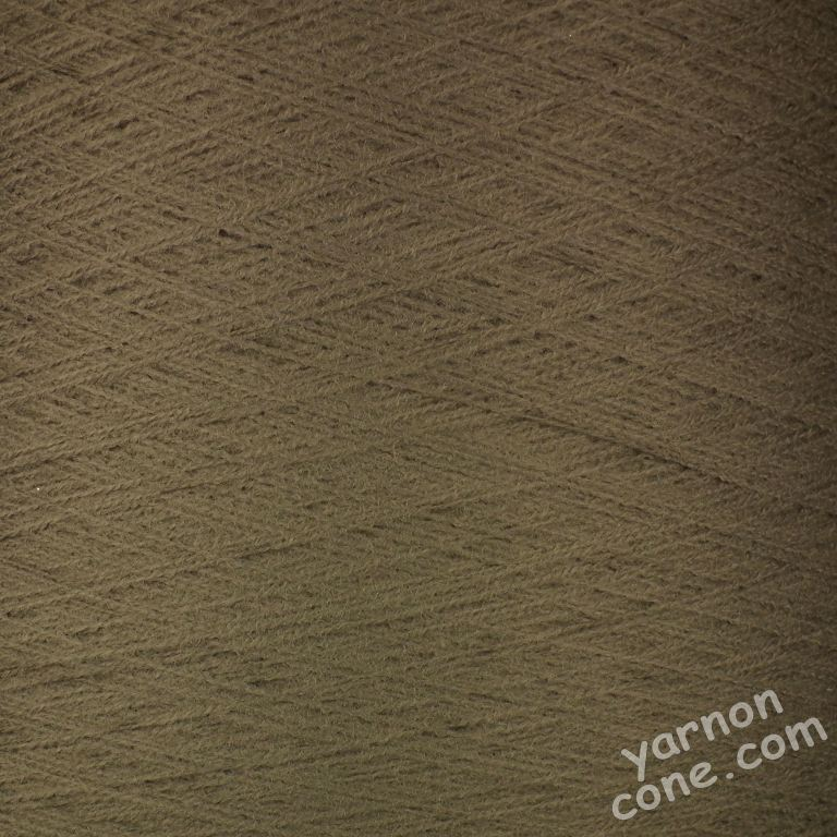 2/30s high bulk acrylic machine knitting yarn on cone 1 2 ply dark taupe