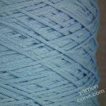 Peruvian Pima cotton 4 ply soffio soft cotton yarn on cone knit crochet weave baby blue