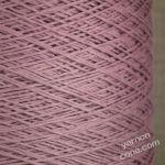 4 ply Italian pure cotton yarn cone knit crochet weave mauve purple lilac