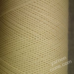 Jura weaving wool 4 ply yarn cone ecru cream undyed natural