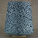Double knitting DK soft pure cotton yarn on cone hand machine knitting weaving crochet jeans denim blue