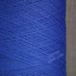 2/30NM zegna baruffa cashwool pure merino knitting wool laceweight yarn cone cobalt blue