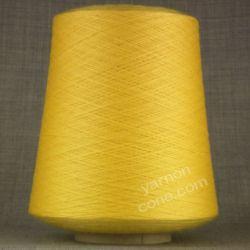 2/30s laceweight cobweb knitting machine yarn pure merino wool sunflower yellow