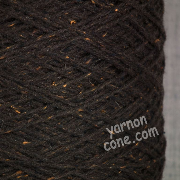 merino wool silk bourette yarn on cone hand machine knitting weaving crochet