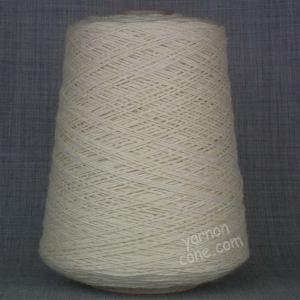 soft organic pure merino wool yarn on cone hand machine knitting yarn cone