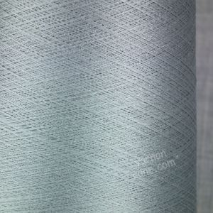 Pure silk cobweb yarn 2/120 NM italian 2/120NM on cone weaving knitting silver grey
