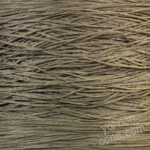 dark taupe tape yarn fettucina cone 4 ply knitting machine yarn hand knitting coned yarn uk