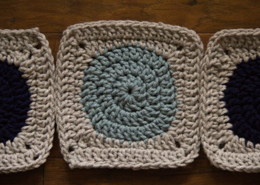 Yarn Tale Collective - [Pattern] - Circle to Square Granny Square - Step-by-Step Tutorial