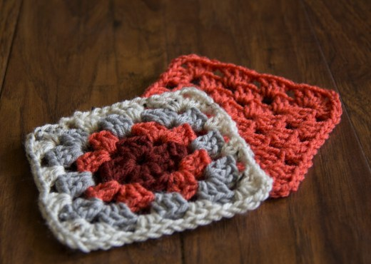 SimpleGrannySquare Pattern and Tutorial