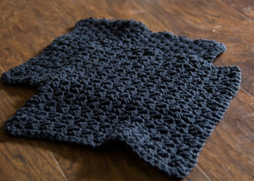 Black Bean Washcloth Collection - Yarn Tale Collective