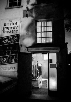 Orienteering-Theatre-Performance-Bristol-Improv-Theatre-Black-and-White