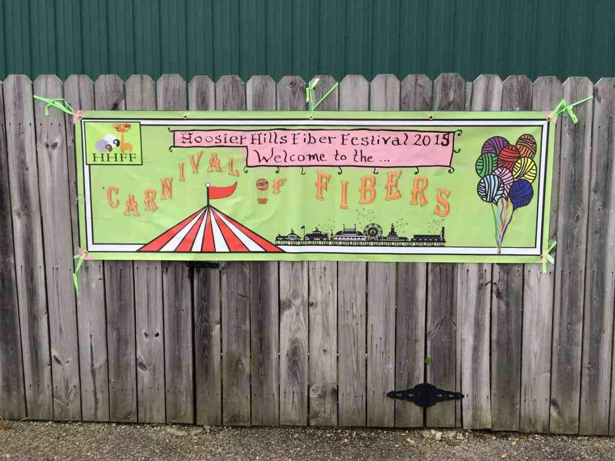 Hoosier Hills Fiber Festival 2015