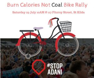 Burn Calories not Coal